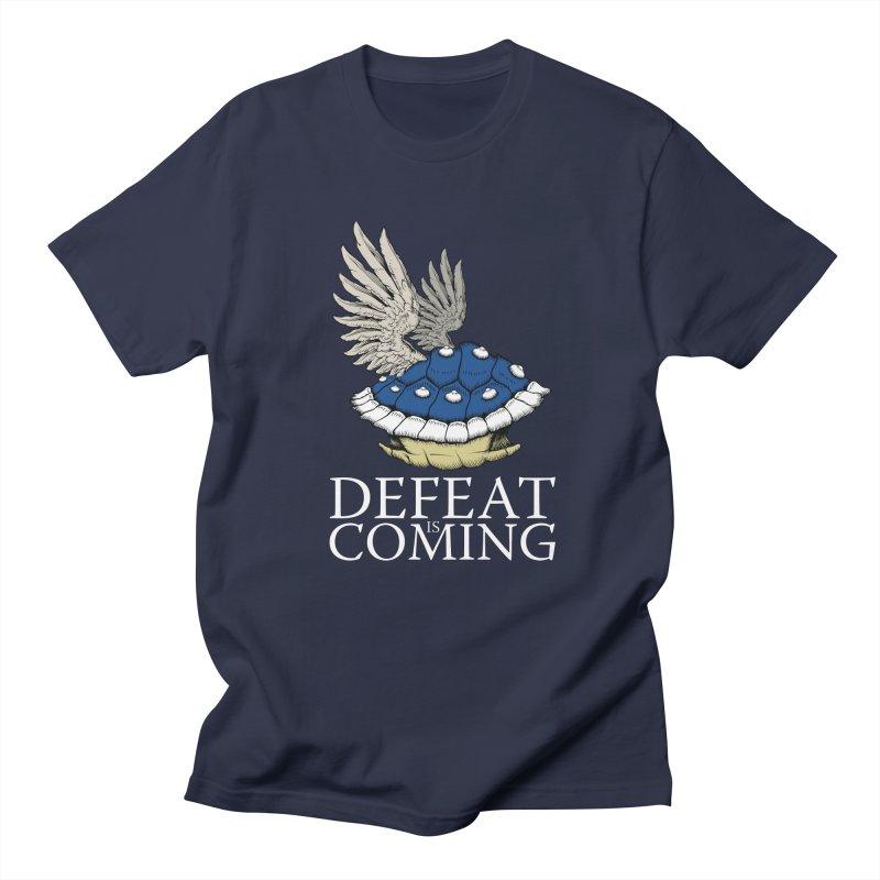 Defeat is coming Men's Regular T-Shirt by Mdk7's Artist Shop