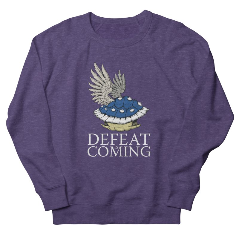 Defeat is coming Women's French Terry Sweatshirt by Mdk7's Artist Shop