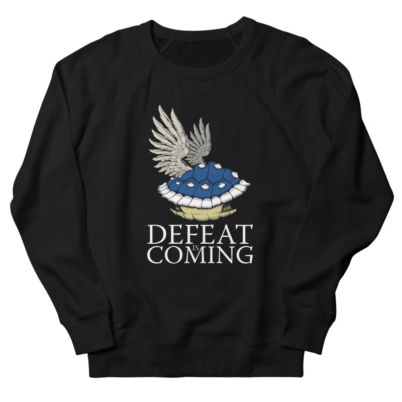 Defeat is coming Men's French Terry Sweatshirt by Mdk7's Artist Shop