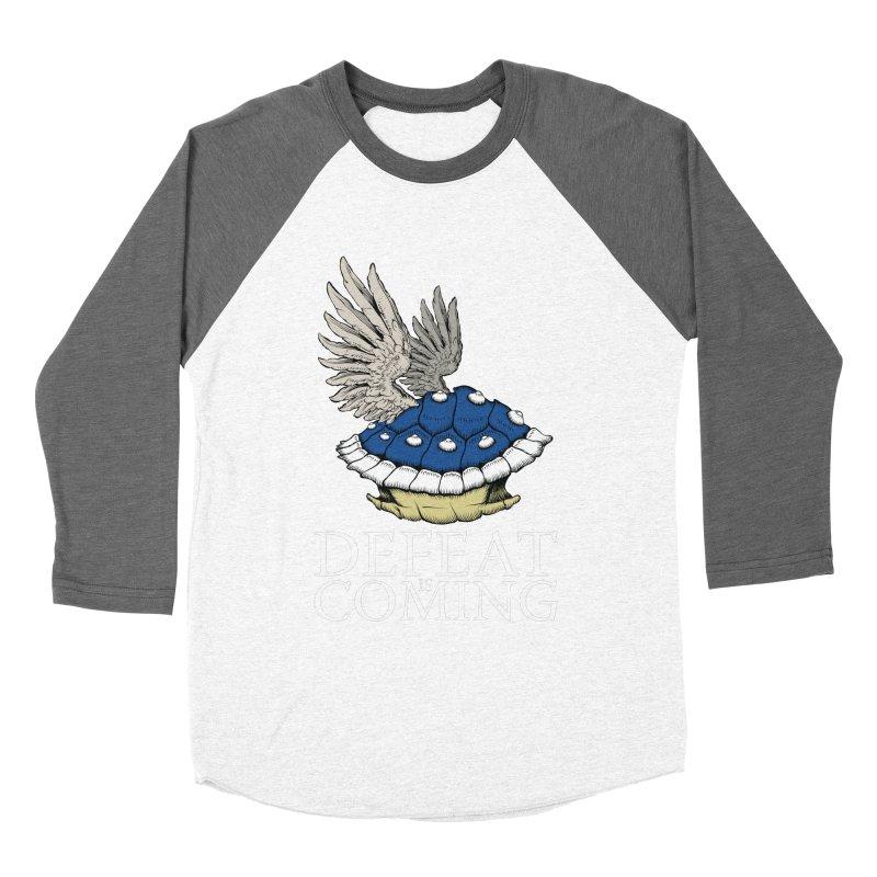 Defeat is coming Men's Baseball Triblend T-Shirt by Mdk7's Artist Shop