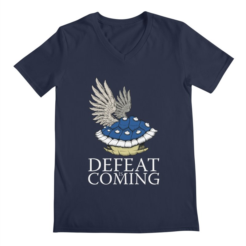 Defeat is coming Men's V-Neck by Mdk7's Artist Shop