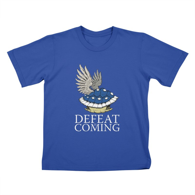 Defeat is coming Kids T-Shirt by Mdk7's Artist Shop
