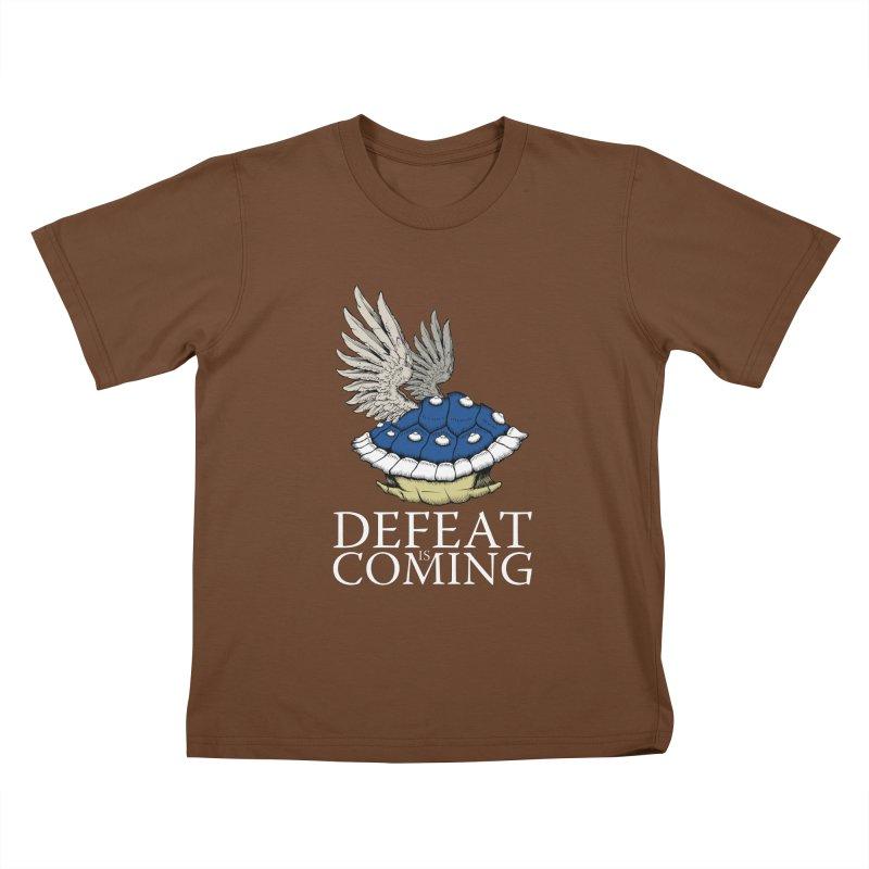 Defeat is coming Kids T-Shirt by Mdk7's Artist Shop