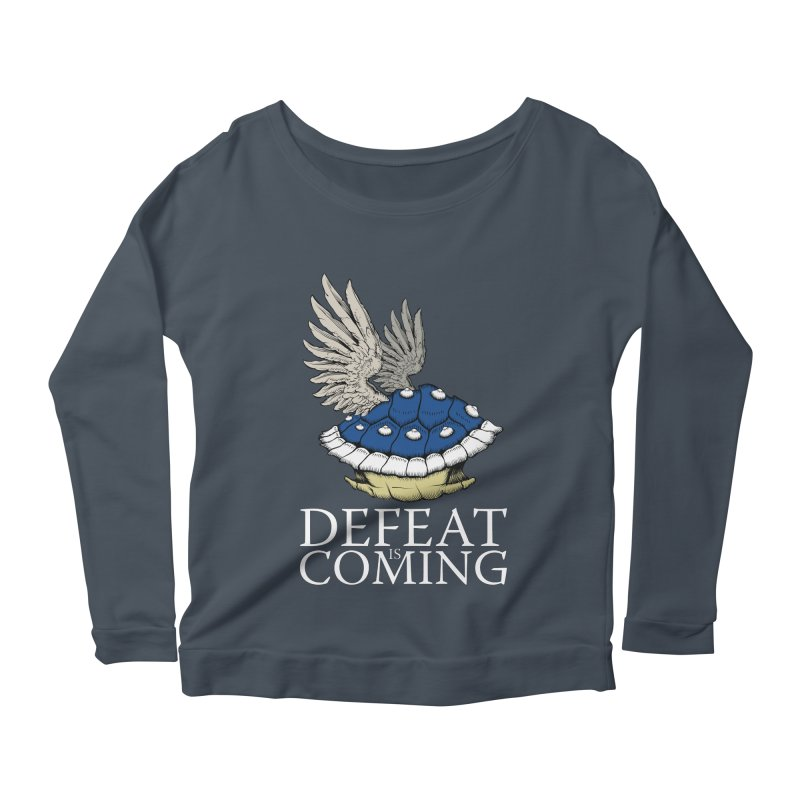 Defeat is coming Women's Scoop Neck Longsleeve T-Shirt by Mdk7's Artist Shop