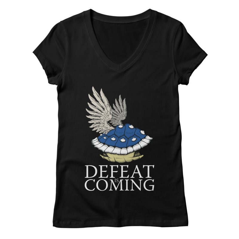 Defeat is coming Women's V-Neck by Mdk7's Artist Shop