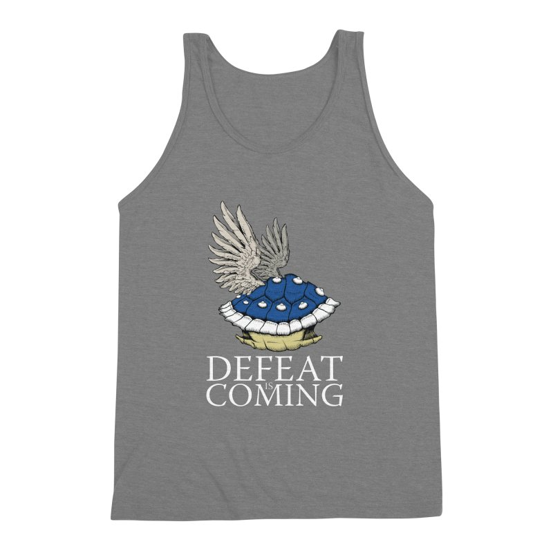 Defeat is coming Men's Triblend Tank by Mdk7's Artist Shop