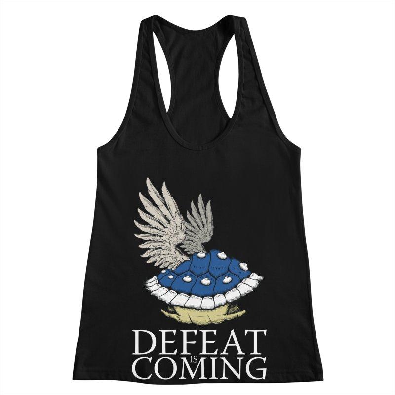 Defeat is coming Women's Racerback Tank by Mdk7's Artist Shop
