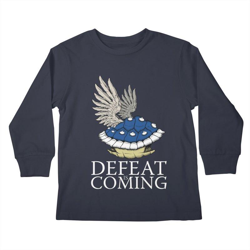Defeat is coming Kids Longsleeve T-Shirt by Mdk7's Artist Shop