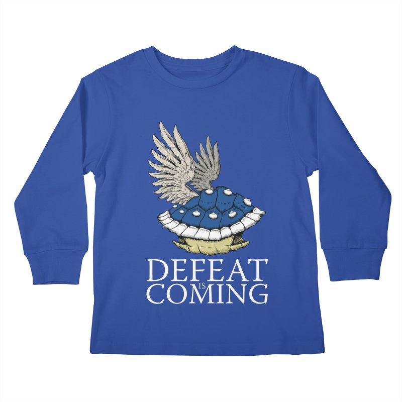 Defeat is coming Kids Longsleeve T-Shirt by Mdk7's Artist Shop