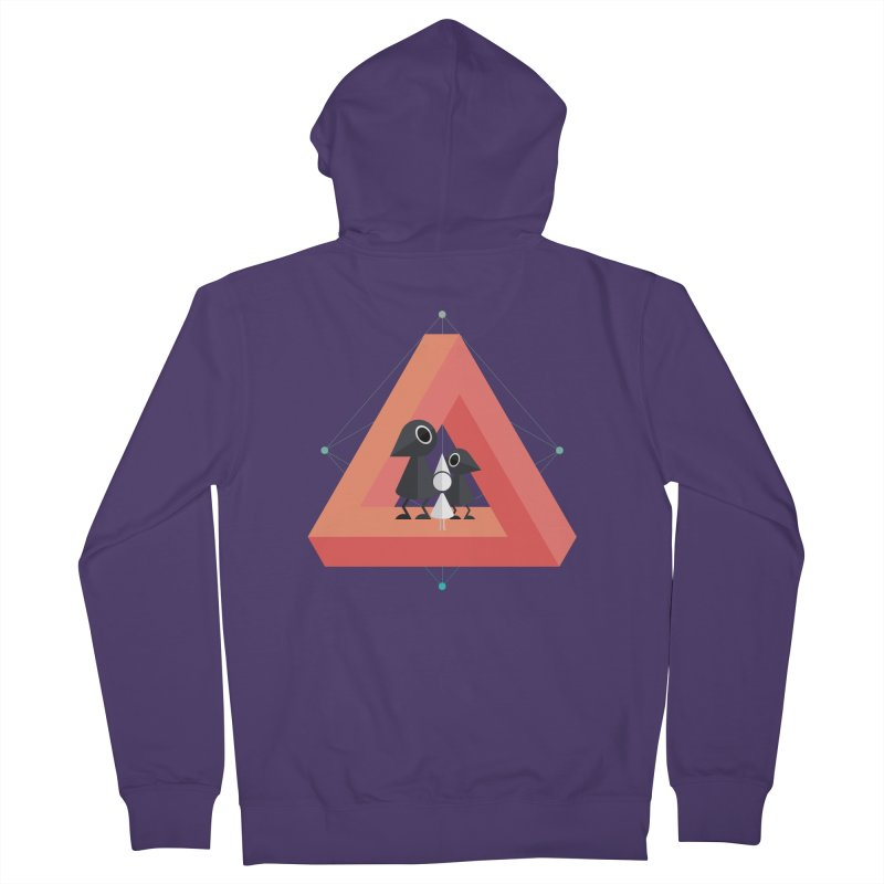 Penrose Kingdom Women's French Terry Zip-Up Hoody by Mdk7's Artist Shop