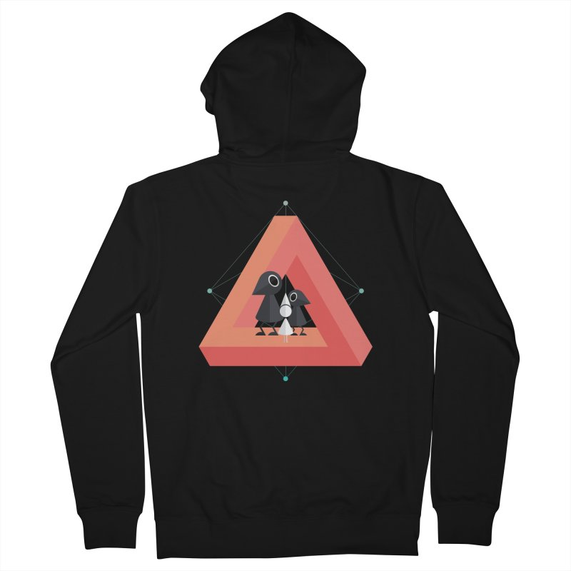 Penrose Kingdom Men's French Terry Zip-Up Hoody by Mdk7's Artist Shop