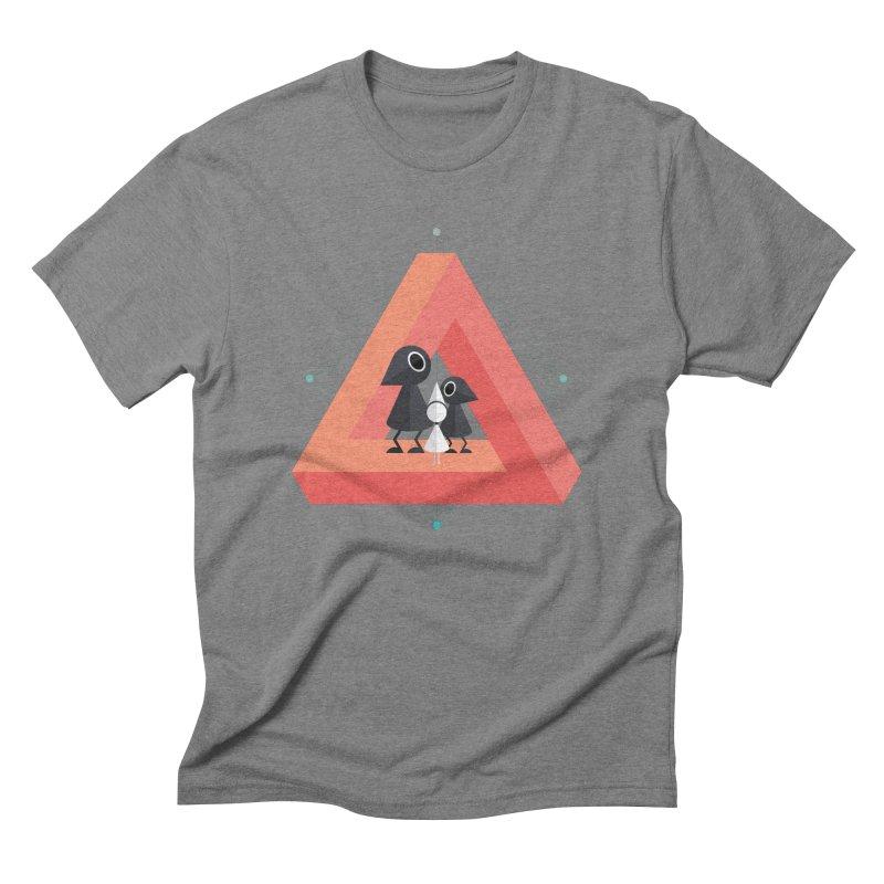Penrose Kingdom Men's Triblend T-Shirt by Mdk7's Artist Shop