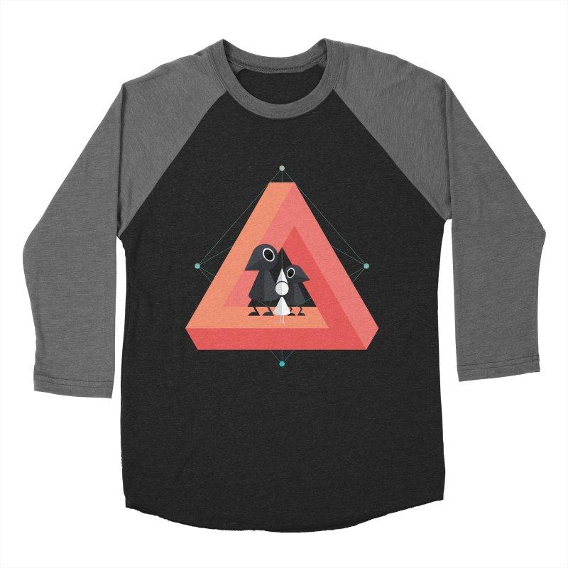 Penrose Kingdom Women's Baseball Triblend Longsleeve T-Shirt by Mdk7's Artist Shop