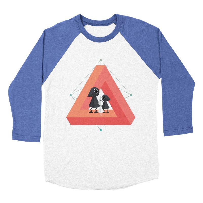 Penrose Kingdom Men's Baseball Triblend T-Shirt by Mdk7's Artist Shop
