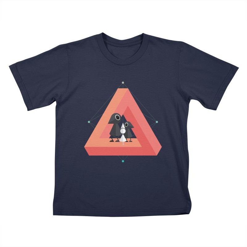Penrose Kingdom Kids T-Shirt by Mdk7's Artist Shop