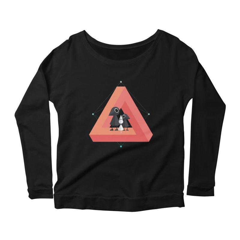 Penrose Kingdom Women's Scoop Neck Longsleeve T-Shirt by Mdk7's Artist Shop