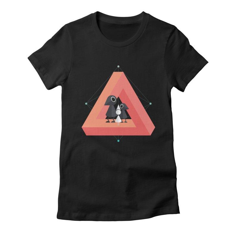 Penrose Kingdom Women's Fitted T-Shirt by Mdk7's Artist Shop