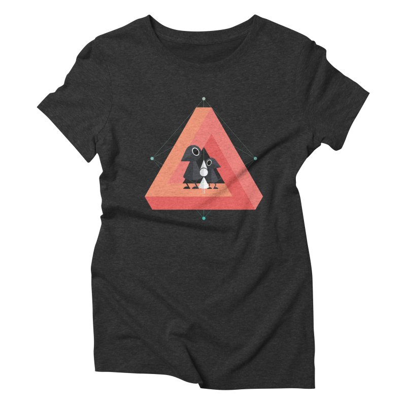 Penrose Kingdom Women's Triblend T-Shirt by Mdk7's Artist Shop