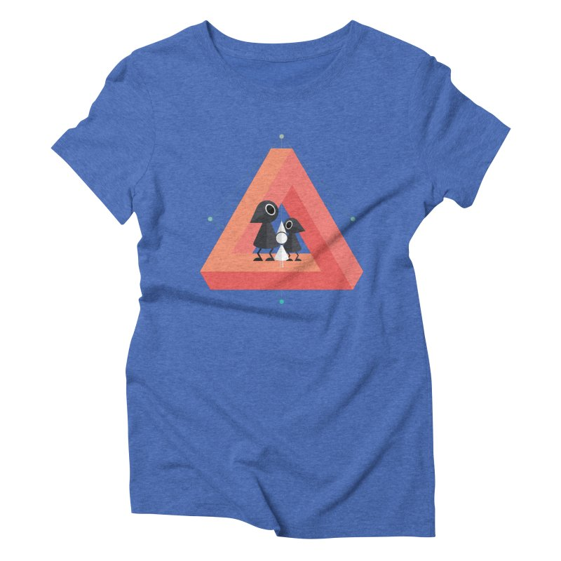Penrose Kingdom Women's Triblend T-Shirt by Mdk7's Artist Shop