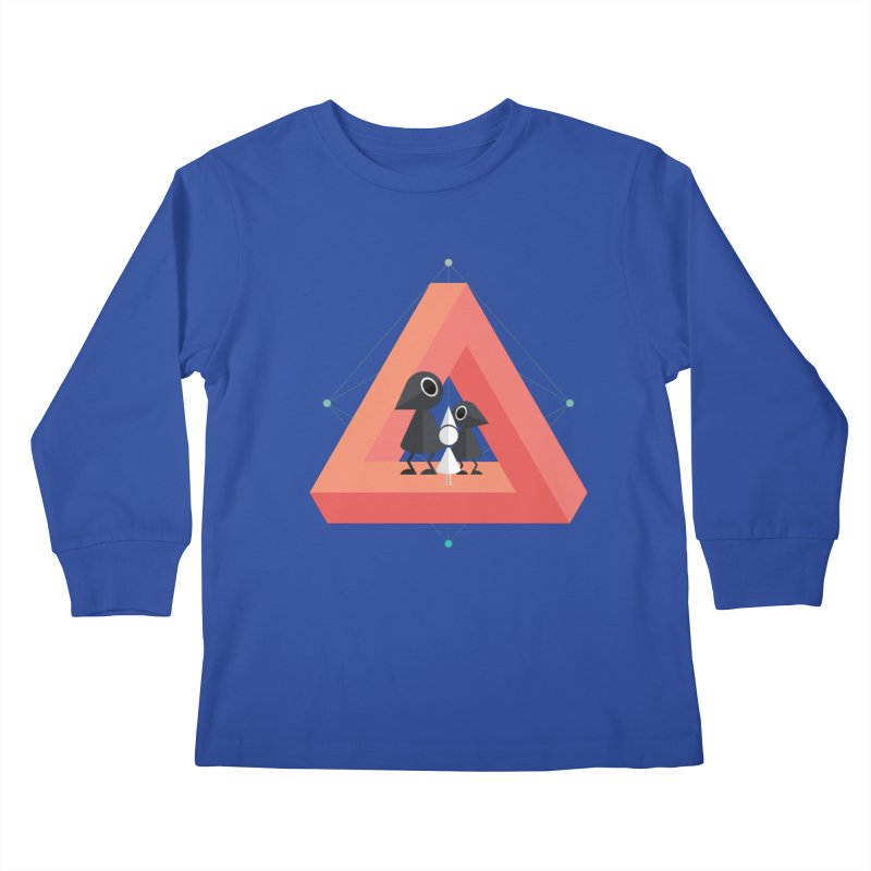Penrose Kingdom Kids Longsleeve T-Shirt by Mdk7's Artist Shop