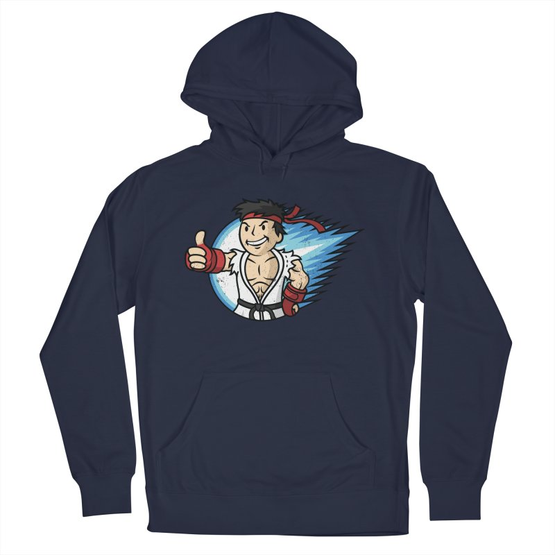Hadouken Boy! Women's French Terry Pullover Hoody by Mdk7's Artist Shop