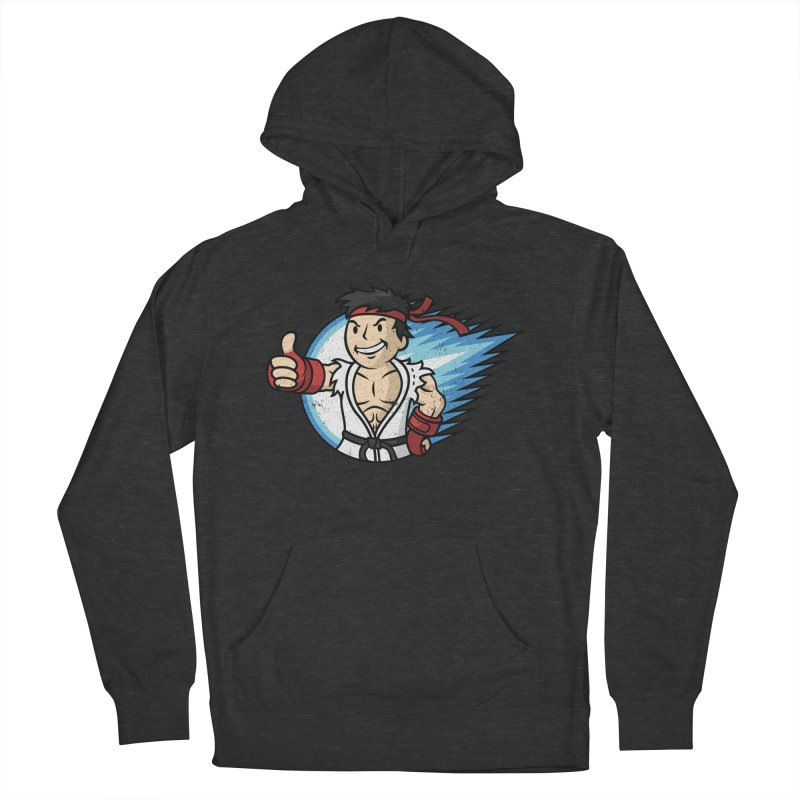 Hadouken Boy! Men's French Terry Pullover Hoody by Mdk7's Artist Shop