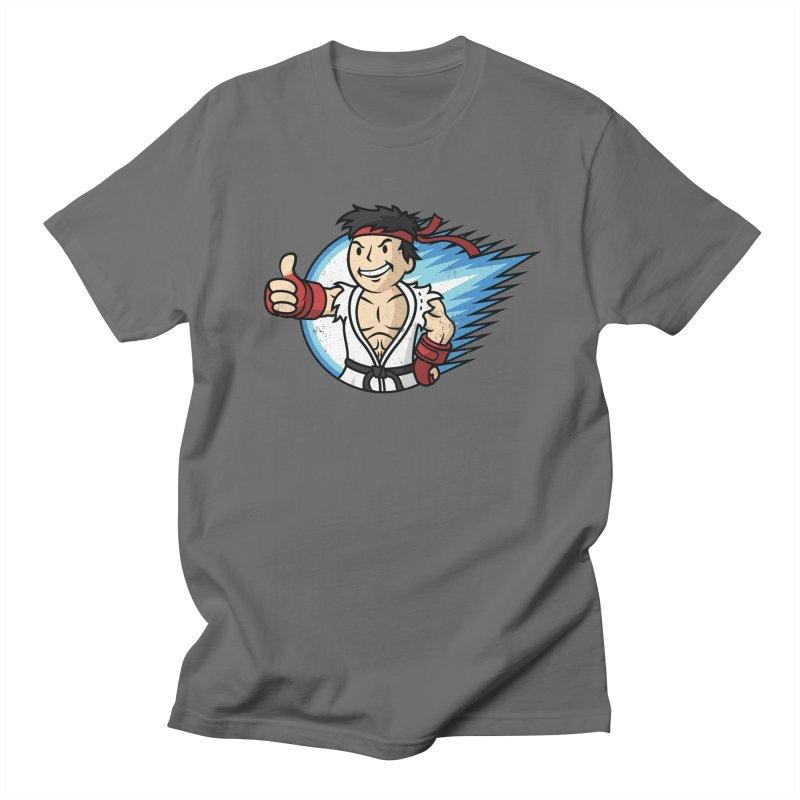 Hadouken Boy! Men's Regular T-Shirt by Mdk7's Artist Shop