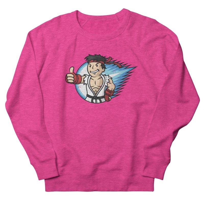 Hadouken Boy! Women's French Terry Sweatshirt by Mdk7's Artist Shop