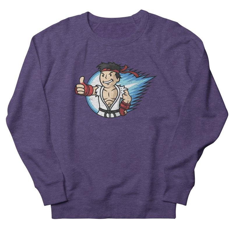 Hadouken Boy! Men's French Terry Sweatshirt by Mdk7's Artist Shop