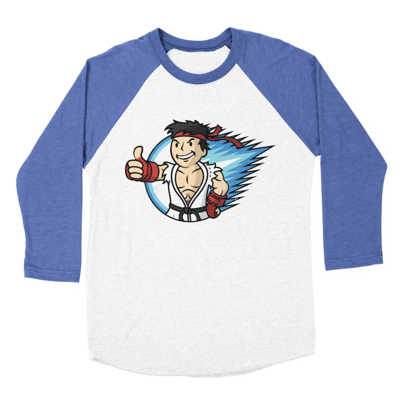 Hadouken Boy! Men's Baseball Triblend T-Shirt by Mdk7's Artist Shop