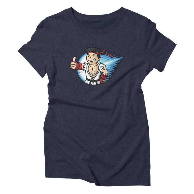 Hadouken Boy! Women's Triblend T-Shirt by Mdk7's Artist Shop