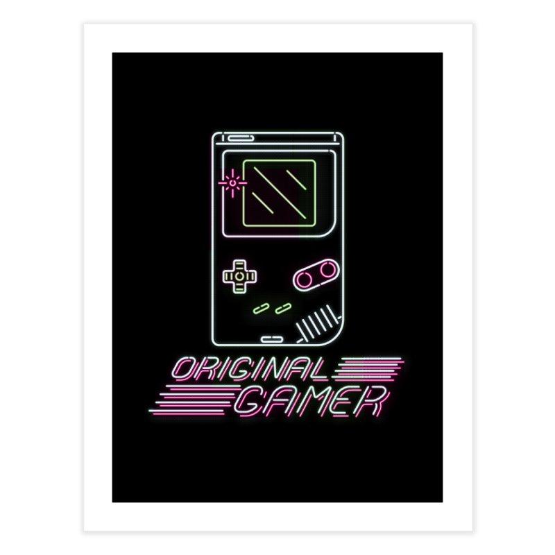 Original G Home Fine Art Print by Meager Quest Merch Store