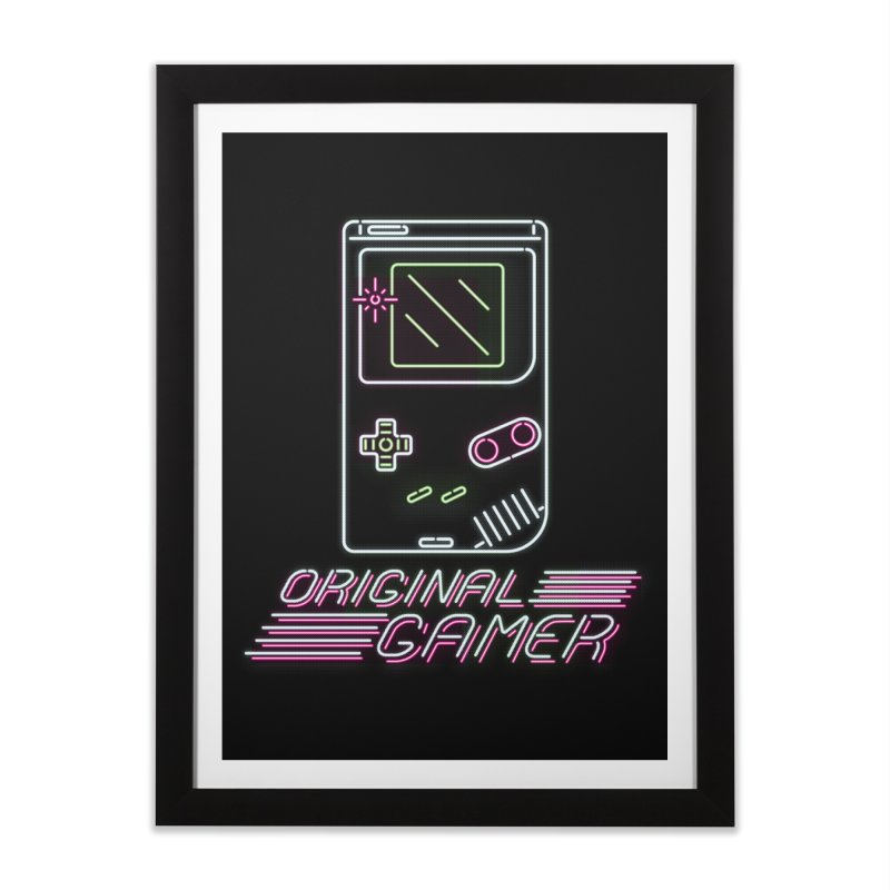 Original G Home Framed Fine Art Print by Meager Quest Merch Store