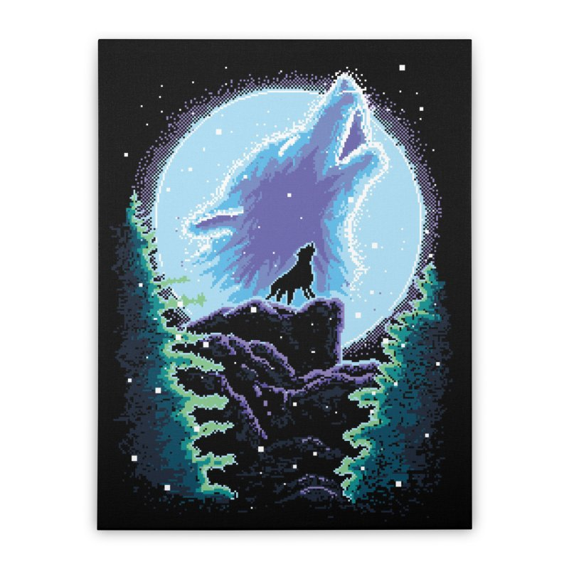 Spirit Animal Home Stretched Canvas by Meager Quest Merch Store