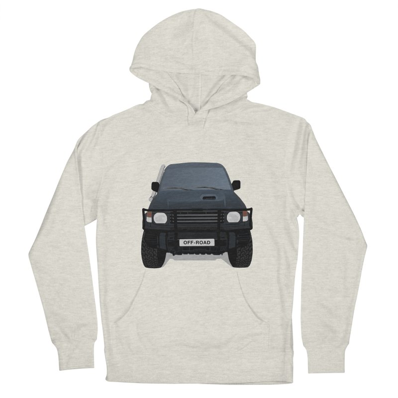 Let's Off Road Men's French Terry Pullover Hoody by Me&My3D