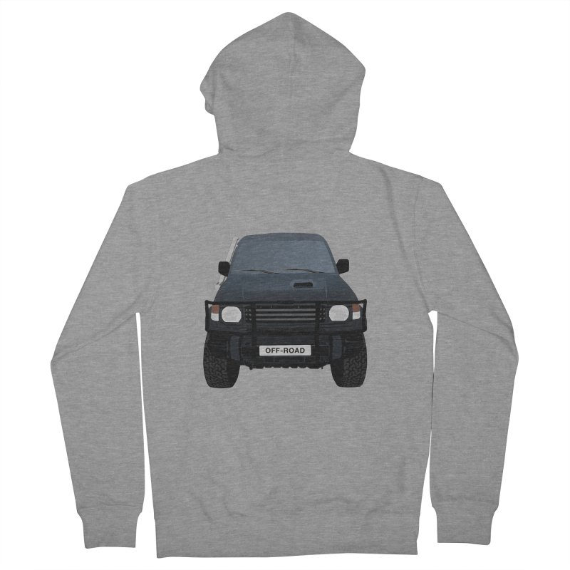 Let's Off Road Women's French Terry Zip-Up Hoody by Me&My3D