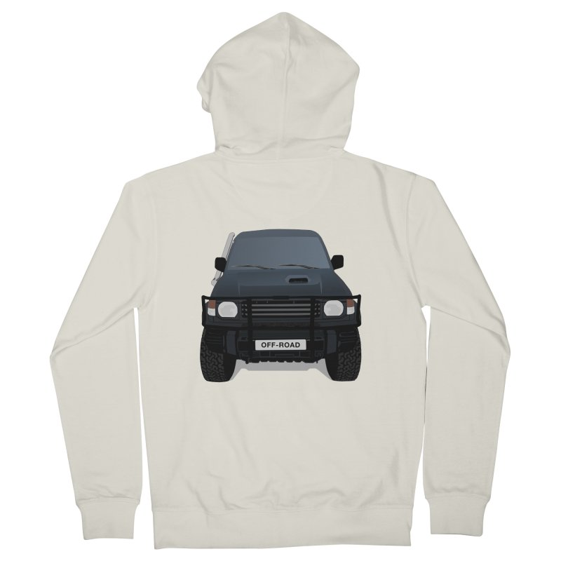 Let's Off Road Women's Zip-Up Hoody by Me&My3D