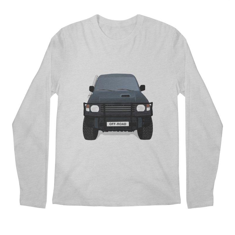 Let's Off Road Men's Regular Longsleeve T-Shirt by Me&My3D