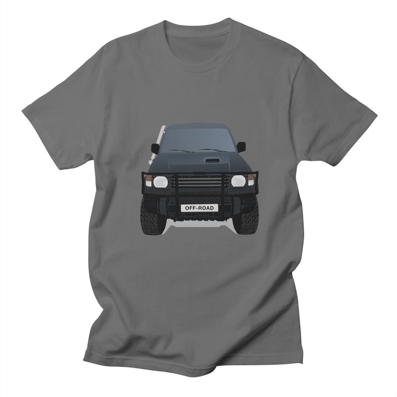 Let's Off Road Men's Regular T-Shirt by Me&My3D