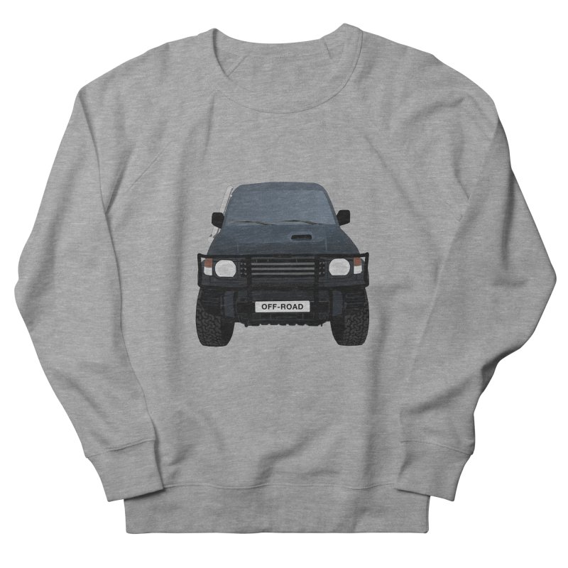 Let's Off Road Men's French Terry Sweatshirt by Me&My3D