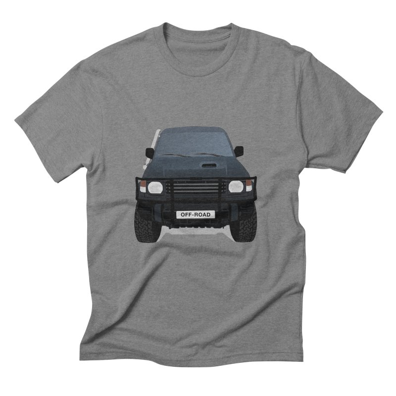 Let's Off Road Men's Triblend T-Shirt by Me&My3D
