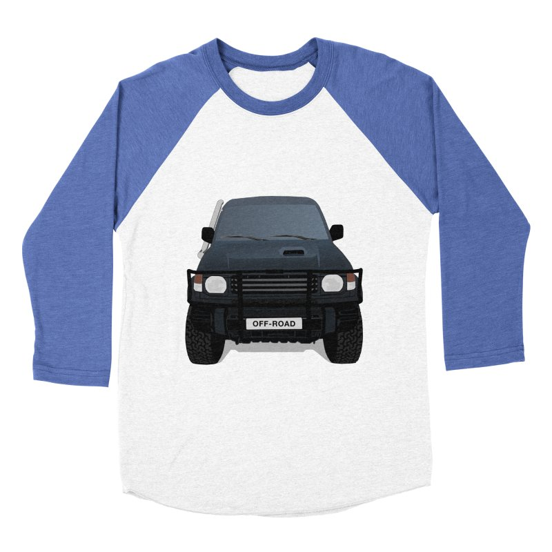 Let's Off Road Women's Baseball Triblend T-Shirt by Me&My3D