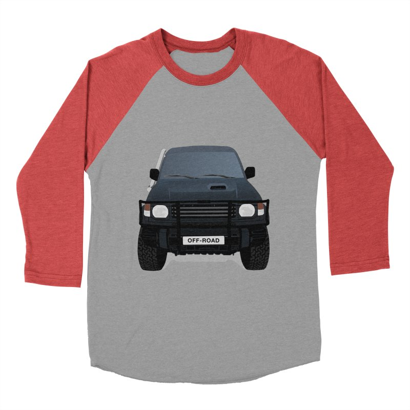 Let's Off Road Men's Baseball Triblend T-Shirt by Me&My3D