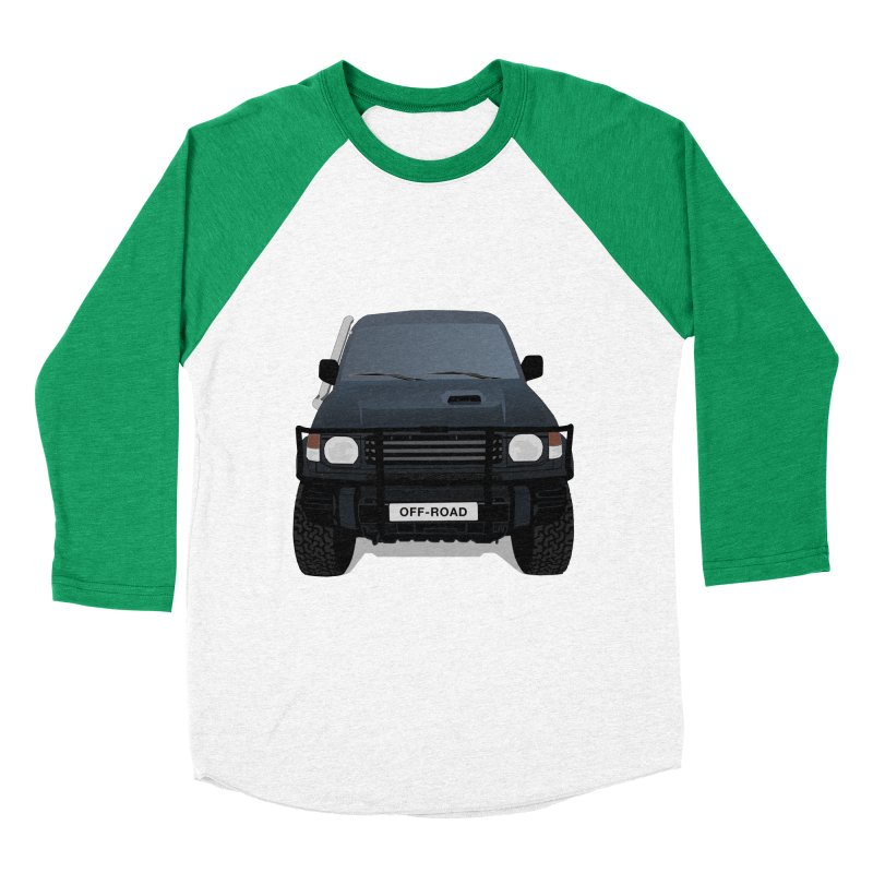 Let's Off Road Men's Baseball Triblend Longsleeve T-Shirt by Me&My3D