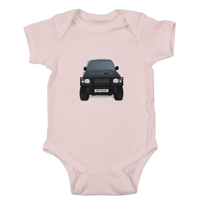 Let's Off Road Kids Baby Bodysuit by Me&My3D