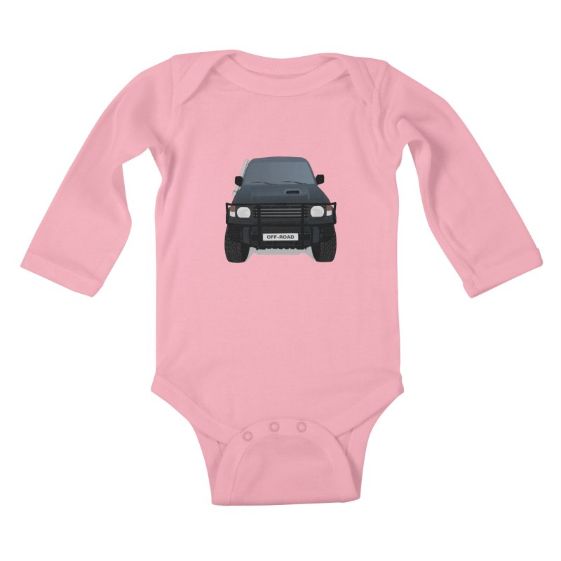 Let's Off Road Kids Baby Longsleeve Bodysuit by Me&My3D