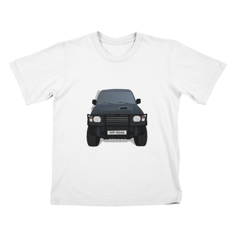 Let's Off Road Kids Toddler T-Shirt by Me&My3D
