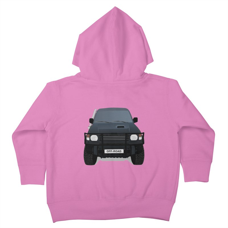Let's Off Road Kids Toddler Zip-Up Hoody by Me&My3D