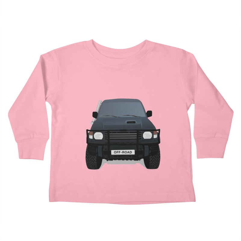Let's Off Road Kids Toddler Longsleeve T-Shirt by Me&My3D