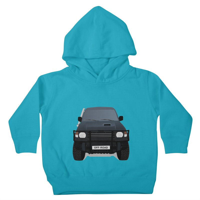 Let's Off Road Kids Toddler Pullover Hoody by Me&My3D